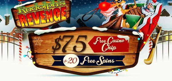 Get a 75 USD Chip + 20 Extra Spins
